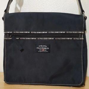 POLO Ralph Lauren Black Messenger Bag